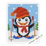 1a_051_pixelhobby_patroon_feest_winter_pinguin_ski
