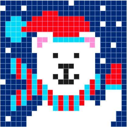patroon-ijsbeer