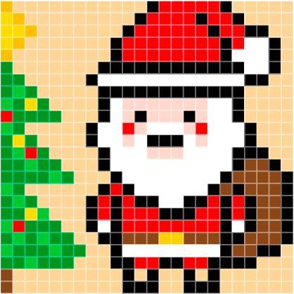 patroon-kerstman
