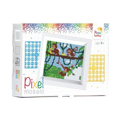 pixelhobby-aapjes-set