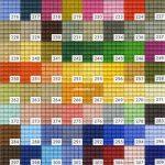Pixelhobby matjes kleuren 206 – 319