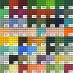 Pixelhobby matjes kleuren 321 – 458