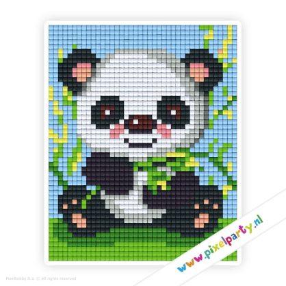 1a_005_pixelhobby_patroon_dier_panda