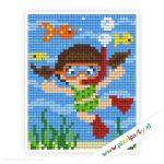 1a_012_pixelhobby_patroon_poppetje_duiken_vissen