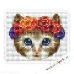 1a_018_pixelhobby_patroon_dier_kat_grijs_bloemen