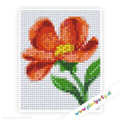 1a_023_pixelhobby_patroon_bloem_oranje