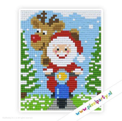 1a_049_pixelhobby_patroon_feest_winter_kerstman_rendier