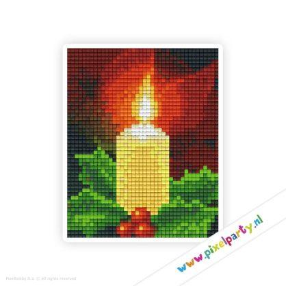 1b_086_pixelhobby_patroon_feest_winter_kerst_kaars