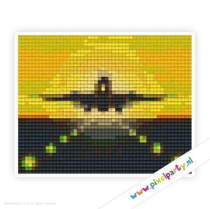 1b_103_pixelhobby_patroon_vervoer_vliegtuig