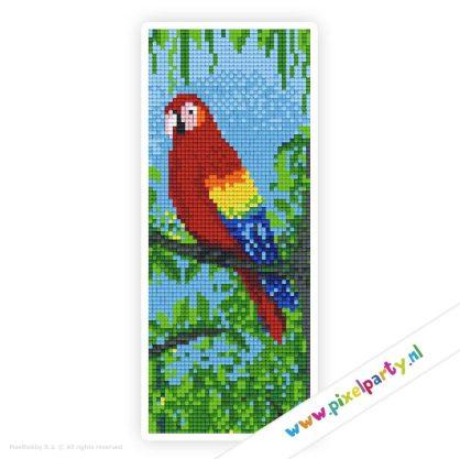 2a_007_pixelhobby_patroon_dier_papegaai