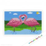 2a_008_pixelhobby_patroon_dier_flamingos