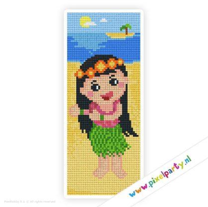 2a_011_pixelhobby_patroon_poppetje_hawai_meisje