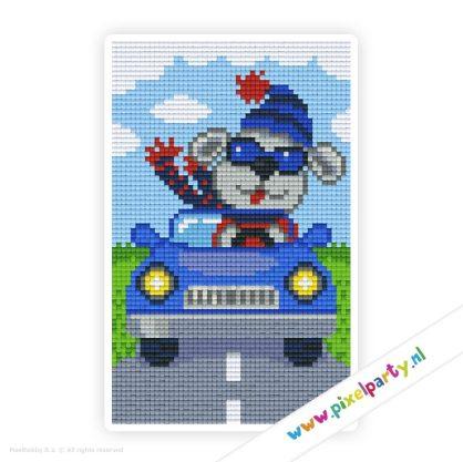 2a_012_pixelhobby_patroon_vervoer_dier_auto