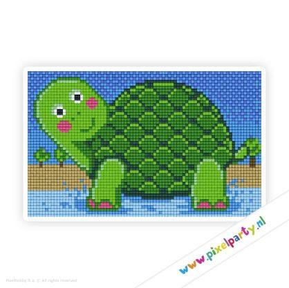 2a_023_pixelhobby_patroon_dier_schildpad