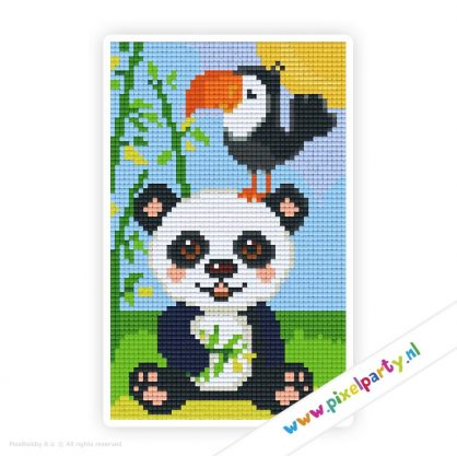 2a_035_pixelhobby_patroon_dier_panda_kaketoe