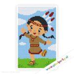 2a_055_pixelhobby_patroon_poppetje_indiaan