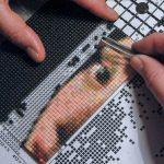 pixelen-met-patroon