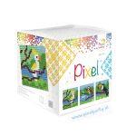 pixelhobby-patronen-set-kubus-tropische-vogels