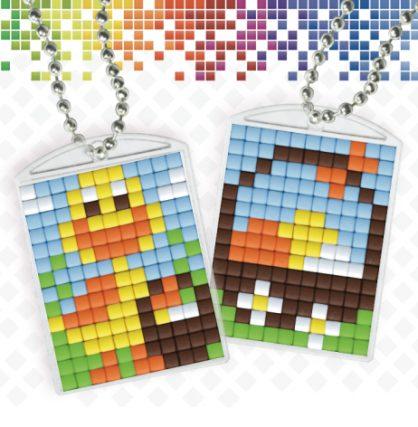 pixelhobby-medaillons-pasen-eendje