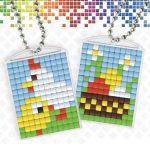 pixelhobby-medaillons-pasen-kip-kuiken