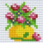 pixelhobby-patroon-bloem