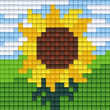 pixelhobby-patroon-pasen-zonnebloem