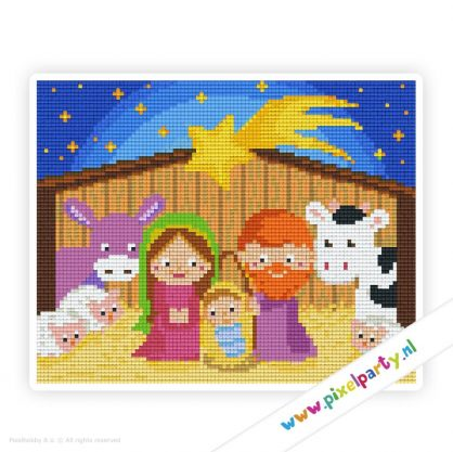 4a_085_pixelhobby_patroon_feest_winter_kerst_stal