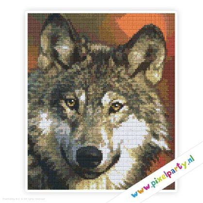 6a_014_pixelhobby_patroon_dier_wolf