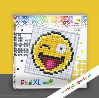 pixelhobby-xl-patroon-smiley