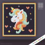 9kleinebasisplaatjes-pixelhobby-unicorn