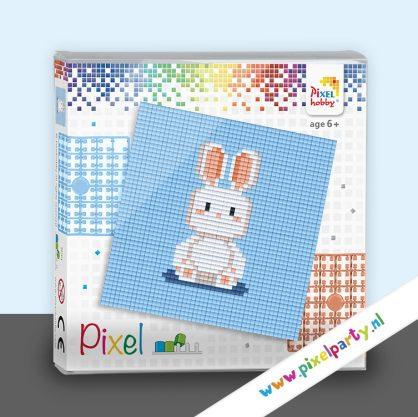 vierkant-pixel-sets-konijntje